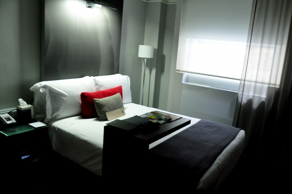 the Paramount Hotel New York near Times Square NYC hotel room