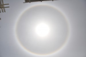 what is this ring around the sun