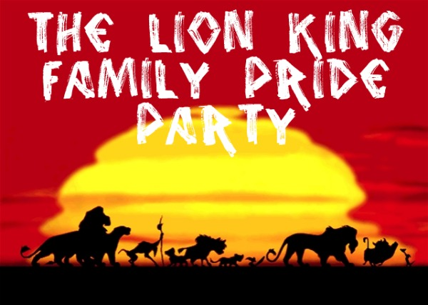 Our Family Celebrates The Release Of The Lion King With A