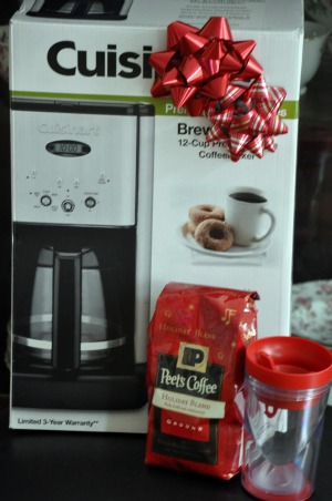 peets coffee cuisinart coffee maker