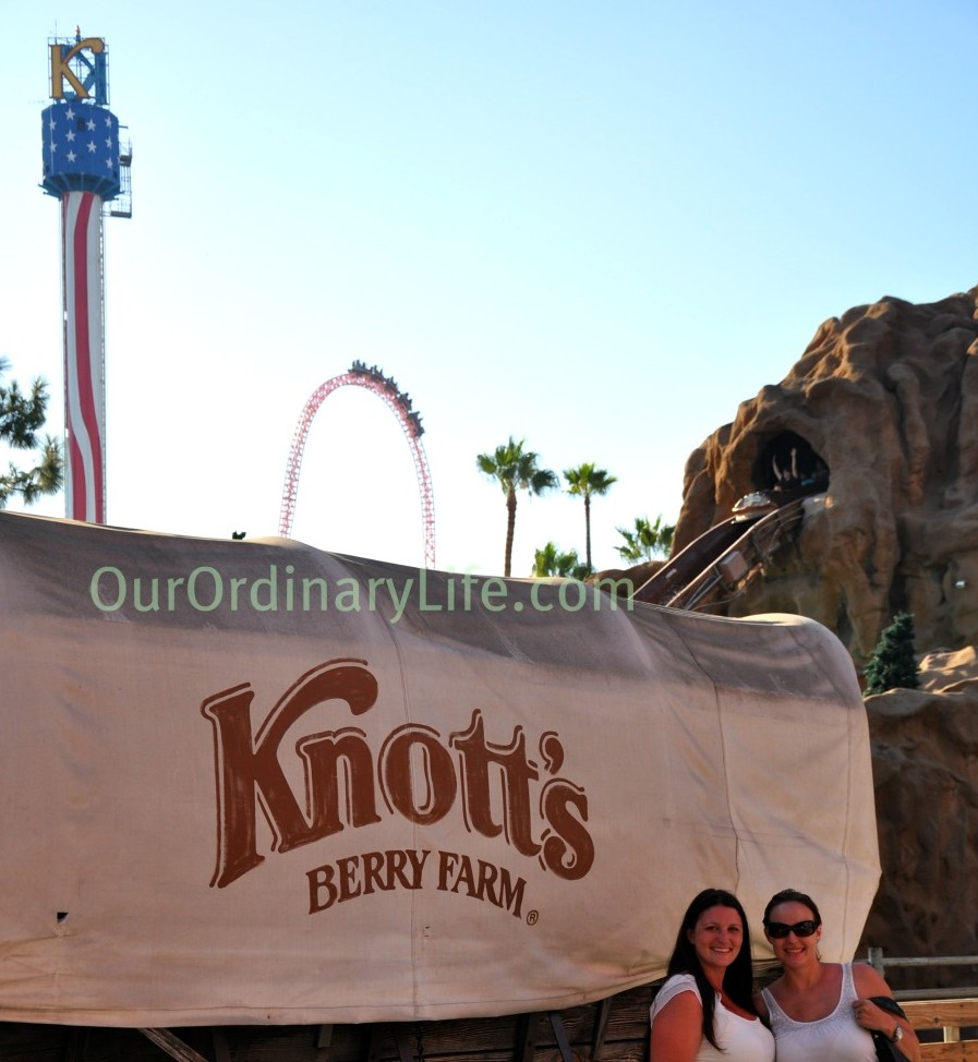 Xcelerator and Timber Mountain Log Ride Knotts Berry Farm