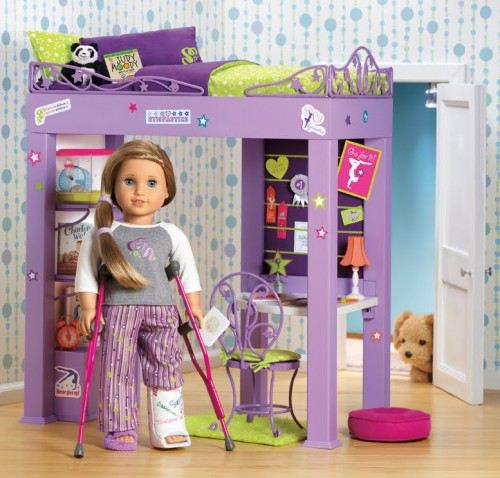 mckenna brooks american girl bed crutches