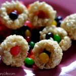 Cooking With Kids – Rice Krispies Hidden Surprise Easter Egg Treats Recipe