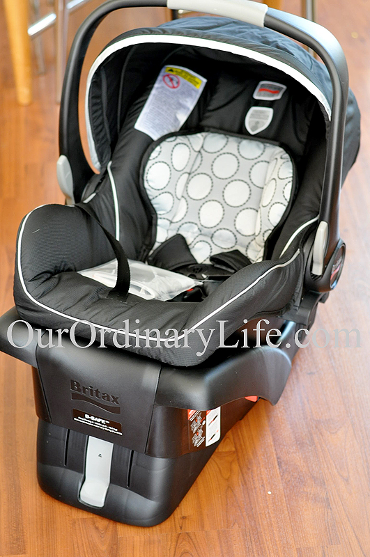 buying for baby the safe comfortable britax b safe car seat. Black Bedroom Furniture Sets. Home Design Ideas