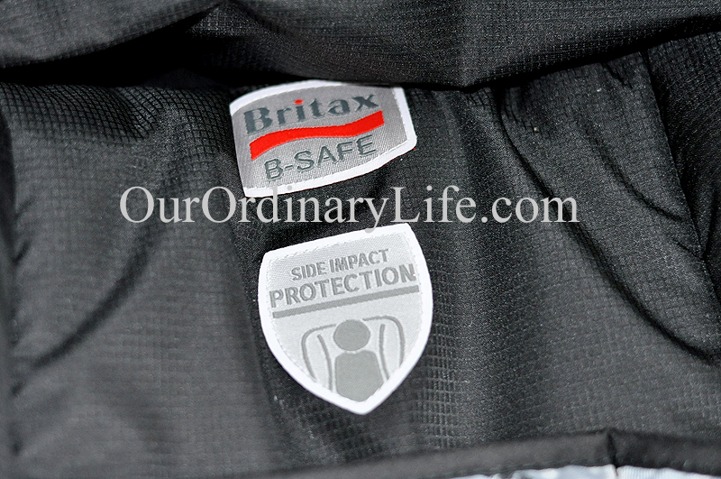 britax side impact protection logo