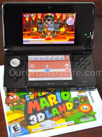 Nintendo 3DS Portable Game System Mario 3D Land