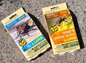 Black Flag Insect Trap Fly Yellow Jacket Bee Lures