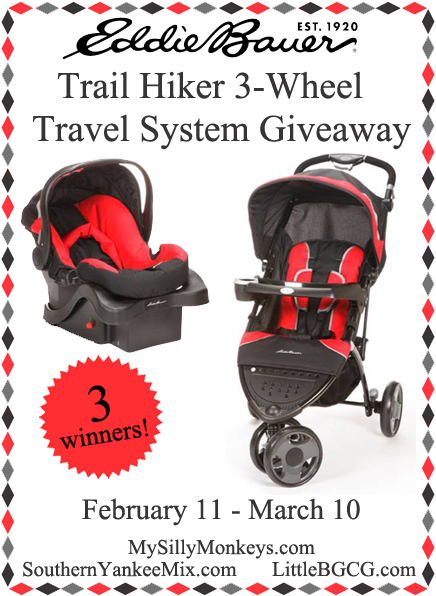 Eddie Bauer Trail Hiker Travel System – Giveaway – Our Ordinary Life