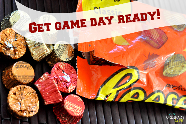 Game Day Pep-Corn with REESE'S® Minis recipe