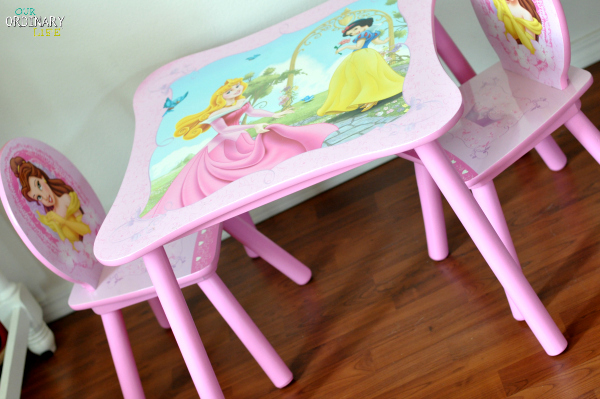 Holiday Gift Ideas For Girls - Delta Princess Table and Chair Set ...