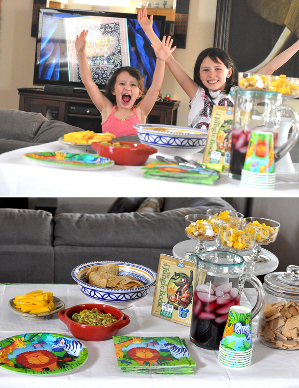 jungle book themed part kids snakcs drink ideas
