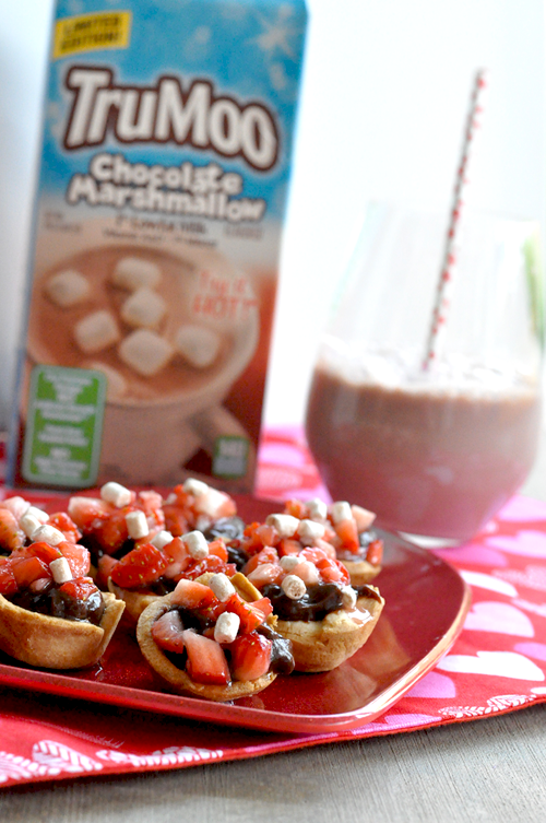 TruMoo Chocolate Marshmallow Mousse Tarts (4)
