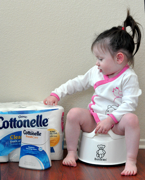 potty training toddler cottonelle (1)