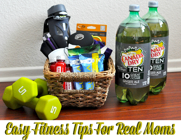 easy fitness tips items for real moms