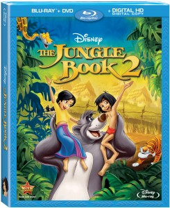 Jungle Book 2 Ble ray dvD art