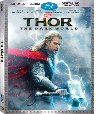 Thor The Dark World 3D Combo Box Art (1)