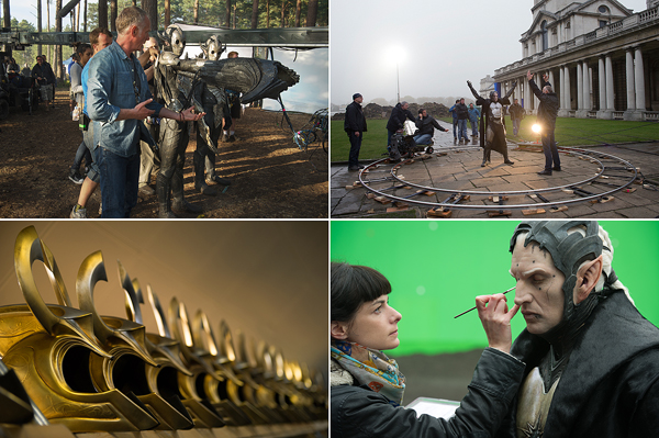 Thor: The Dark World - Behind The Scenes Clips