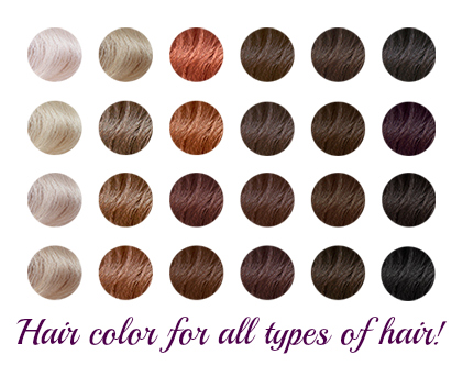 Types Of Hair Dye Colors | Find your Perfect Hair Style