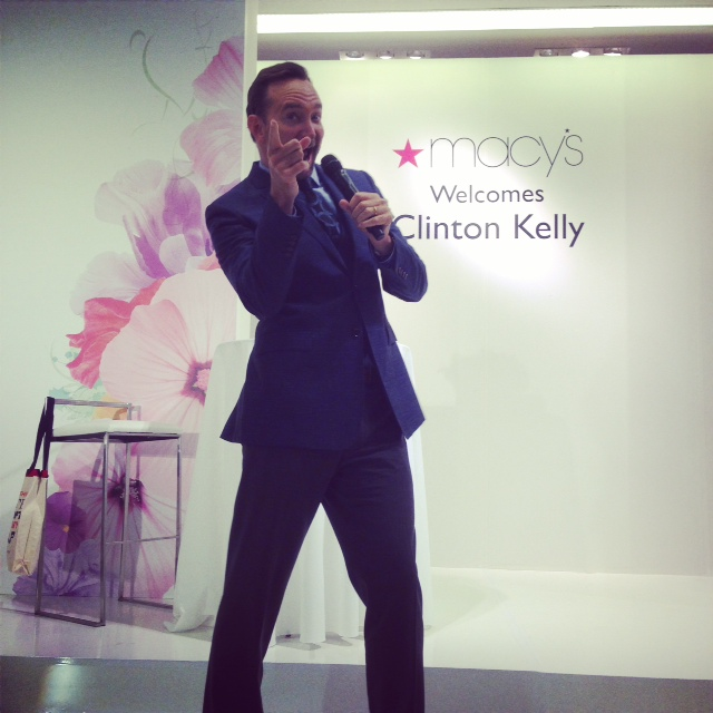 clinton kelly macy's event