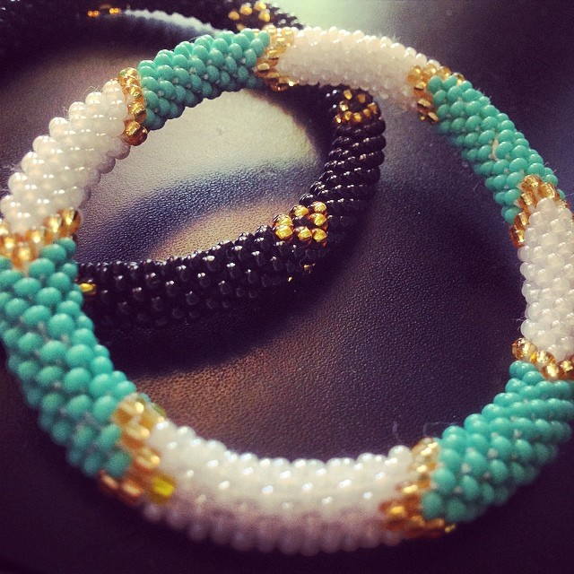 Fair Trade Sashka Co. Glass Beaded Bracelets