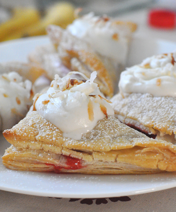 Silk Strawberry Almond Turnover (7)