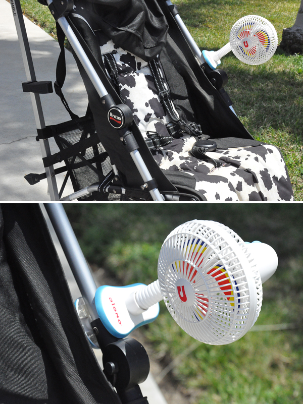 Diono Clip On Stroller Fan and Cool Window Shade (4)