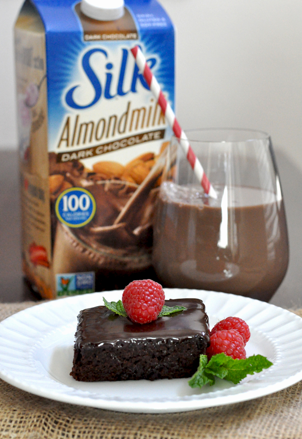 Silk Almond Milk Chocolate Cake No Oil (1)