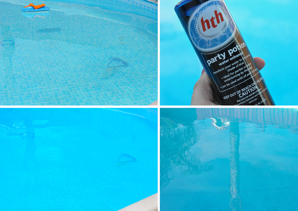HTH Pool Products Party Potion Blue Water