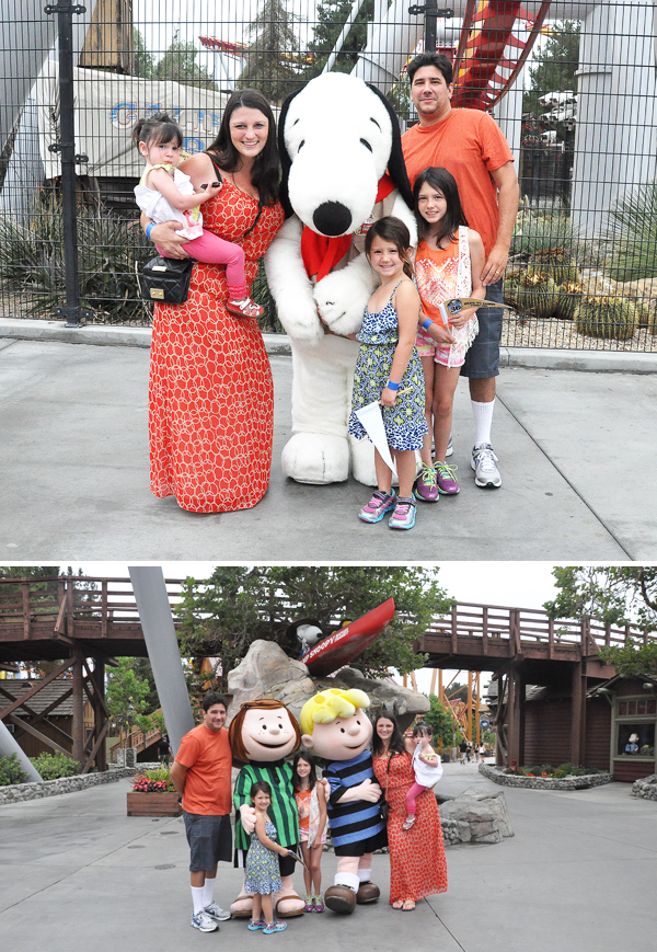Knotts Berry Farm Snoopy Schroeder Peppermint Patty
