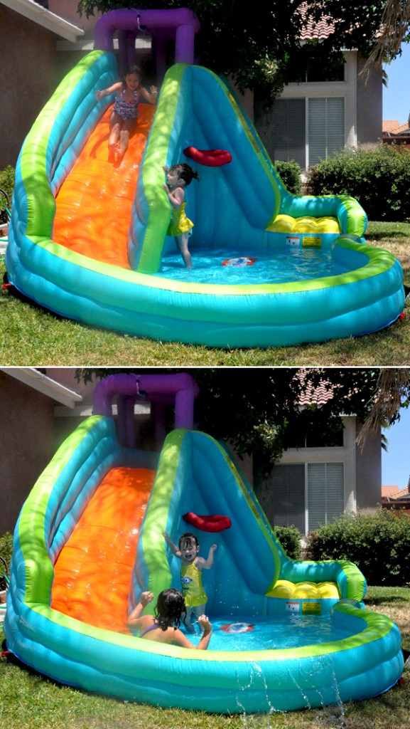 LIttle Tikes Inflatable WaterSlide (6)