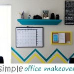 Our Simple Office DIY Makeover
