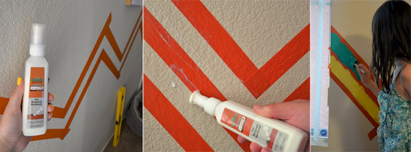 Frogtape Paint Perfect Lines On Wall (5)