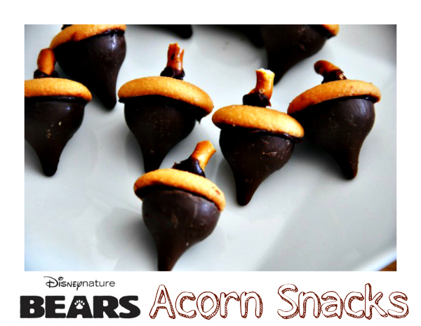bears acorn snacks