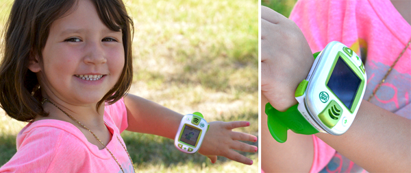 leapfrog leapband being worn