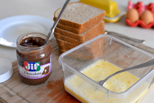JIF Hazelnut Spread Stuffed French Toast (3)