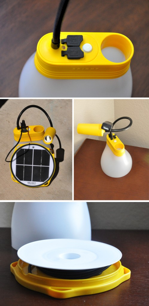 Bright SunBell Solar Latern Reading Light Camping (3)