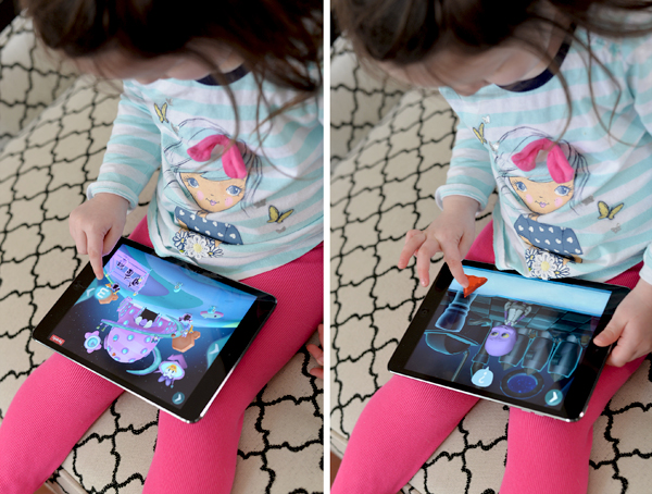 Disney Imagicademy Mickeys Math app toddler playing (4)