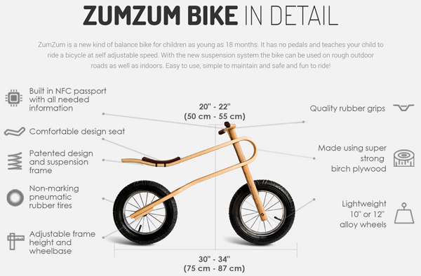 zum zum birch wood bike