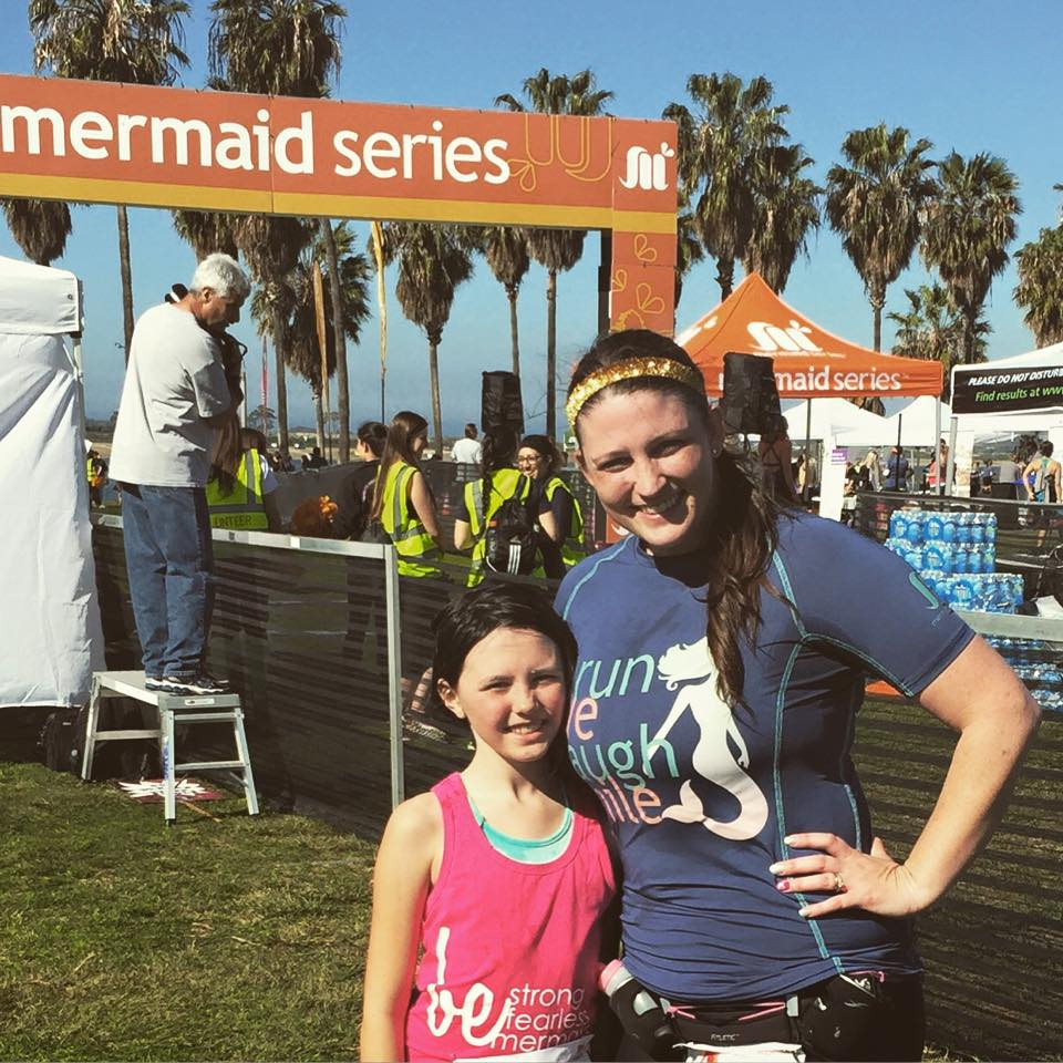 mermaid half marathon 2015  kaila and kristin