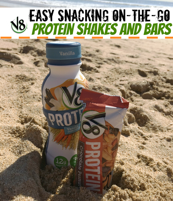 V8 Protein Drink Bar travels