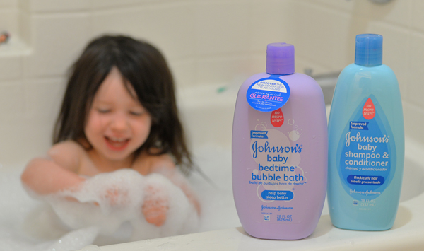 new johnson johnson formula soaps bubble bath