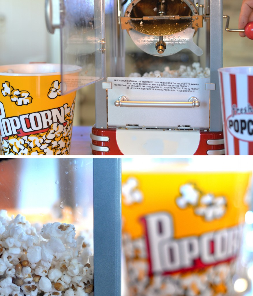 Movie Family Night Popcorn Machine
