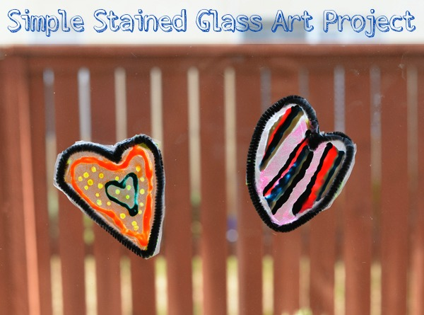 Glad Press N Seal Stained Glass Craft Window Decor