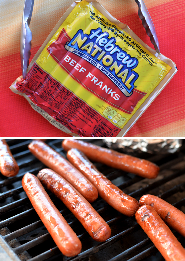 Hebrew National Beef Franks Grilling Hotdogs