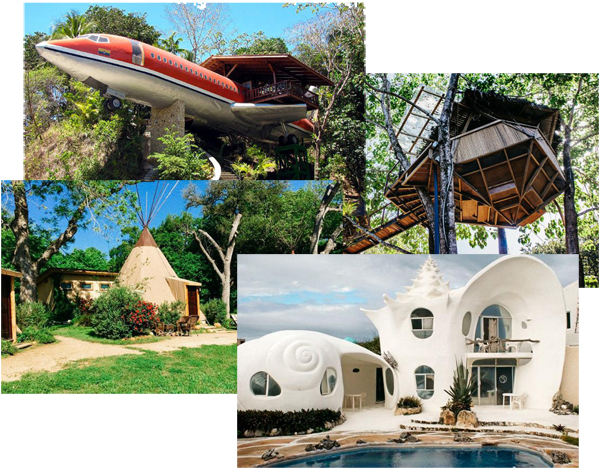 unique homes tipi shell house plane treehouse