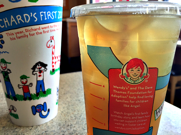 Wendy's® cups for a cause