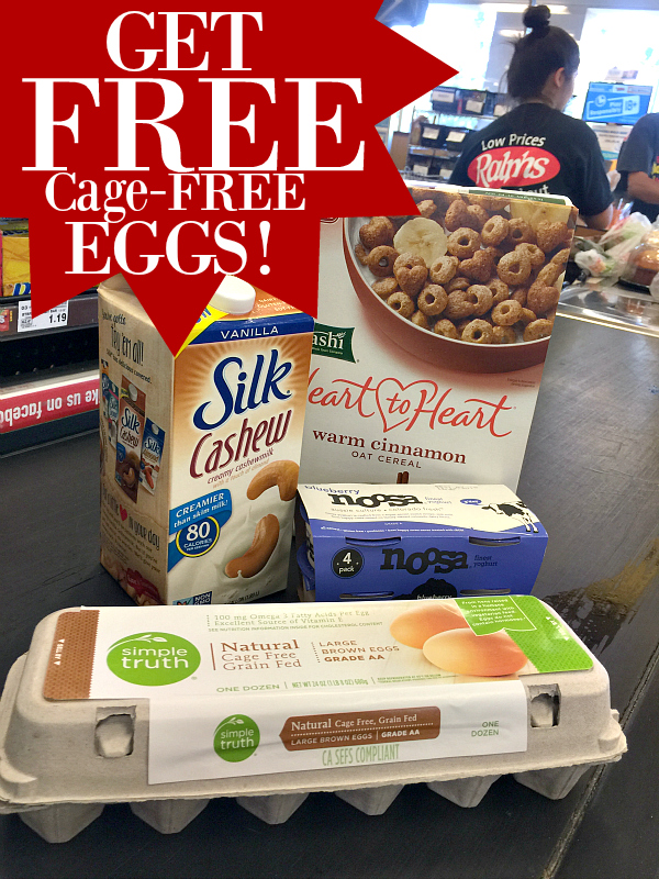 FREE cage free eggs