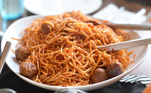 Beyond Meat Beyond Beef Spaghetti Dinner