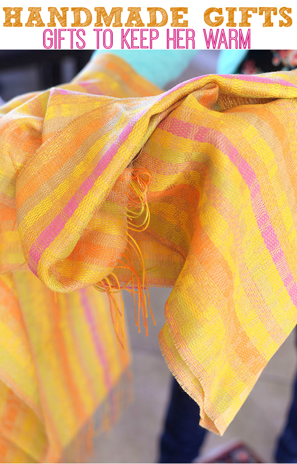 Colorful Alpaca Hand Woven Scarf