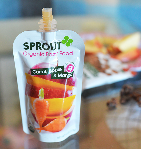 Sprout Crispy Chews Beet Berry Organic Baby Food